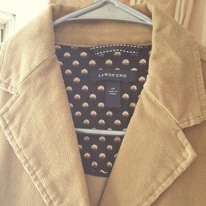 Lands' End Jackets & Coats - Lands' End cord blazer size 12 petite